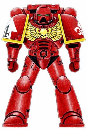 Red Templars Astartes