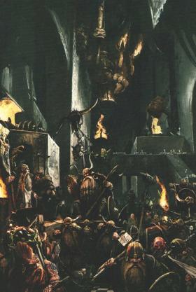 Dwarf Throng ready for War