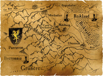Grey Mountains map