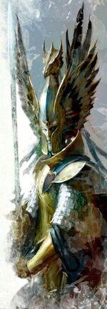 Warhammer Tyrion Art