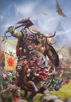 Warhammer Gorbad's Waaagh