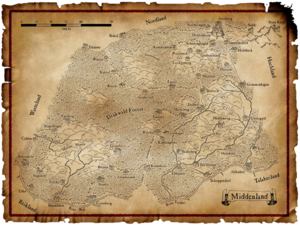 Warhammer Middenland Map
