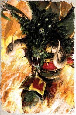 Warhammer Bloodthirster Warfare
