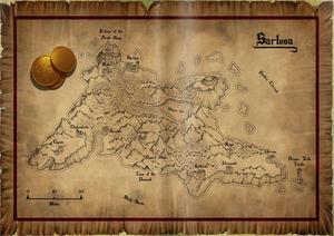 Sartosa map
