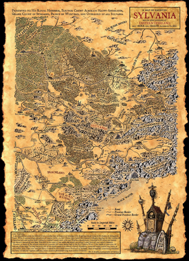 Map of Sylvannia