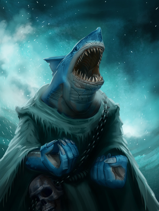 shark humanoid hatched by - photo #44