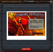 Demon reward