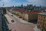 Krakowskie przedmiescie plac zamkowy