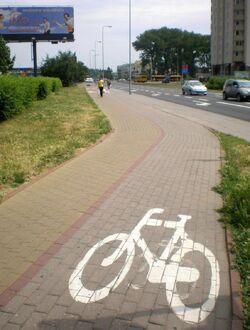 Kondratowicza (sciezka rowerowa).JPG