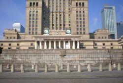 Pałac Kultury i Nauki (trybuna).JPG