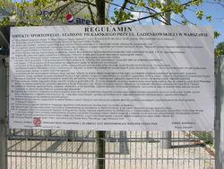 Regulamin Stadionu Wojska Polskiego.JPG