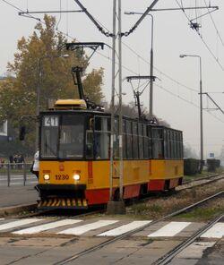 Wołoska (tramwaj 41).JPG