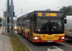 Powstańców Śląskich (autobus 112).JPG