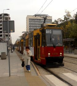 Plac Politechniki (przystanek, tramwaj 15).JPG