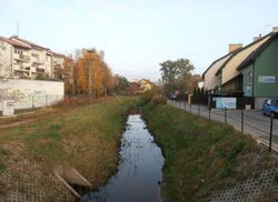 Kanał Wawerski (Diamentowa ).JPG