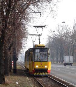 Aleja Waszyngtona (tramwaj 9).JPG