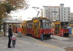 Marymont-Potok (przystanek, tramwaj 15).JPG