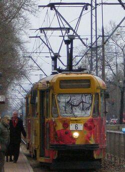 Marymoncka (tramwaj 6).JPG