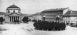 Kościół św. Aleksandra w Warszawie ok 1870.jpg