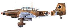 22 Ju87D-3 D-1Trop 8-StG3