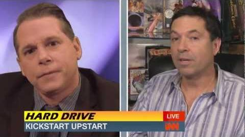 Brian Fargo Appears on Hard Drive