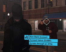 Rich Bank Account profiled