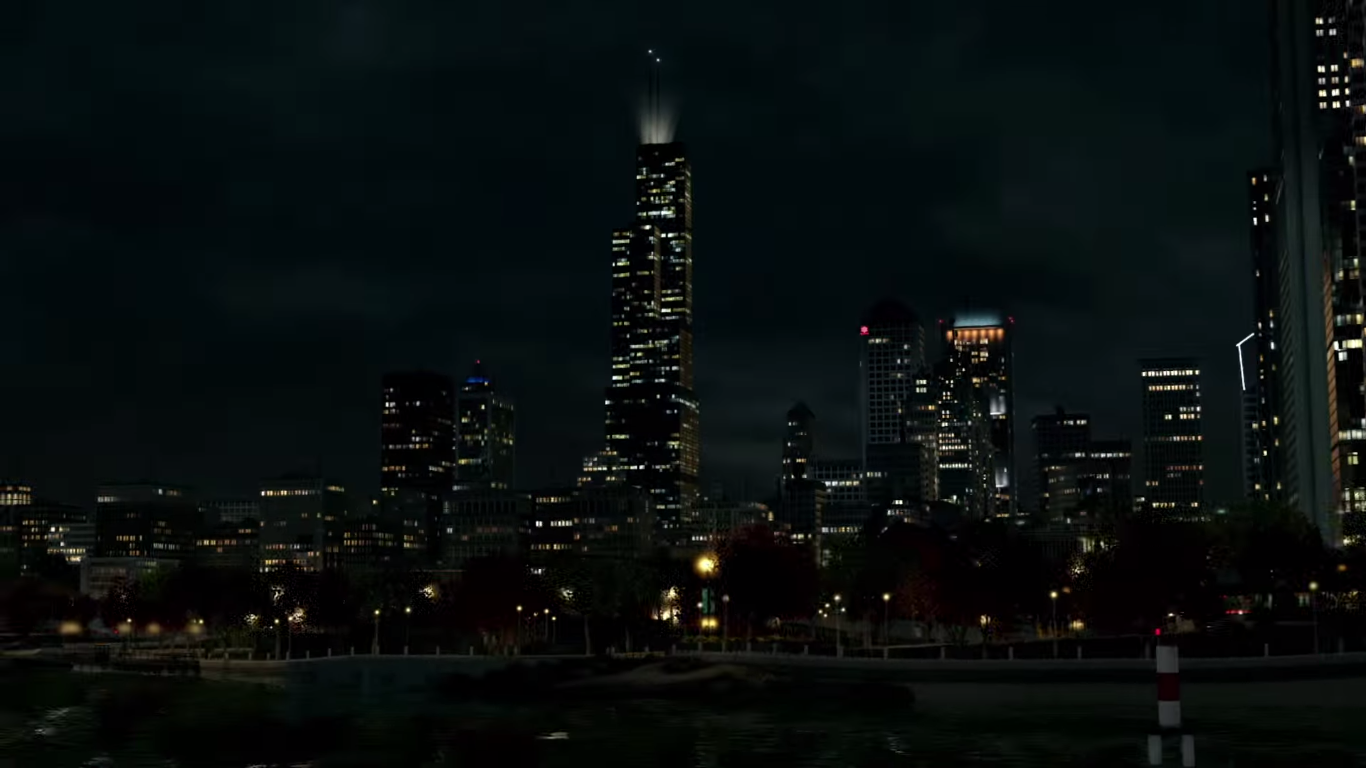 Image  WD ChicagoSkyline Nightpng  Watch Dogs Wiki