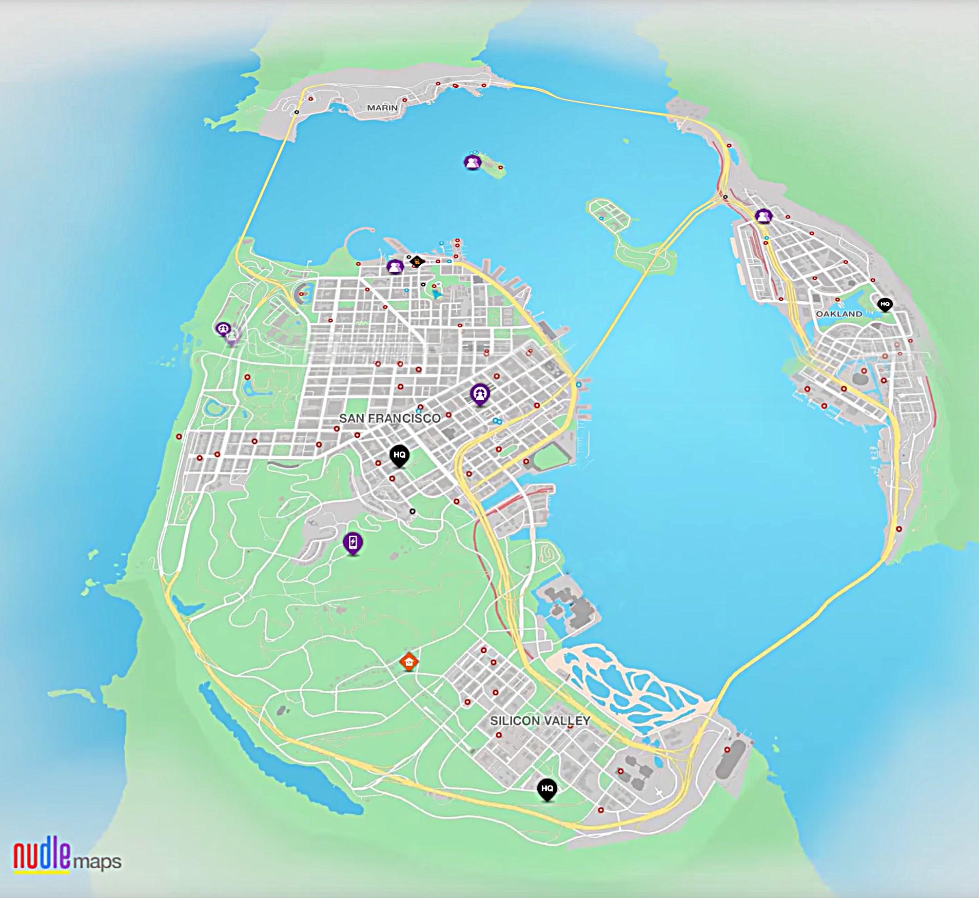 San Francisco Watch Dogs Wiki FANDOM powered by Wikia