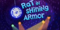 Rat in Shining Armor