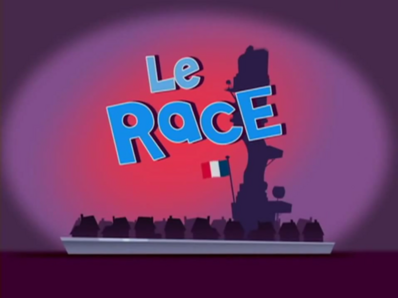 Le Race Title Card