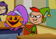 Pumpkin lady