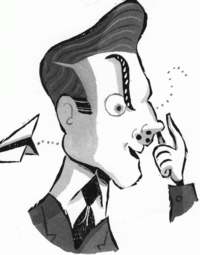 Mr. Gorf Illustration