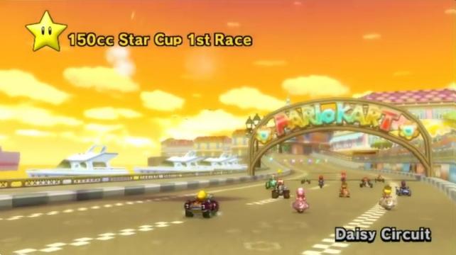 Mario Kart Wii Daisy Circuit