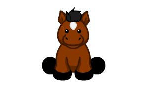 Brown Arabian