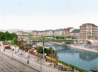 Donau in Wien