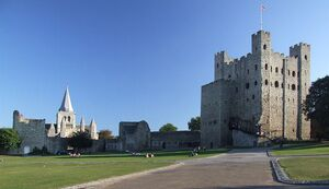 800px-Rochester Castle Keep and Bailey 0038stcp