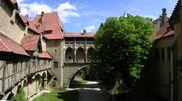 Burg Kreuzenstein - Panorama Burghof