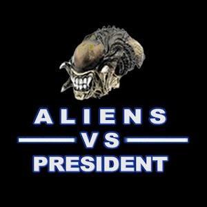Aliens-vs-president