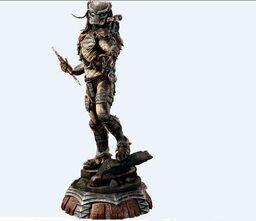 Wolf Predator-Predator Polystone Statue