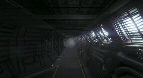 Corridor alien isolation