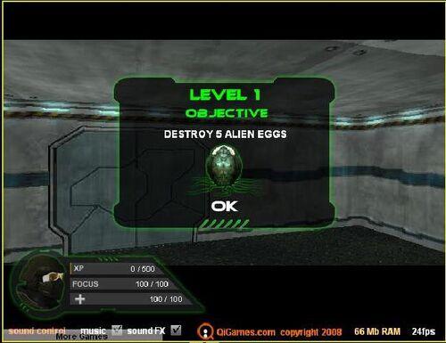 Alien Slayer 3D6