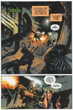 Aliens Colonial Marines comic2
