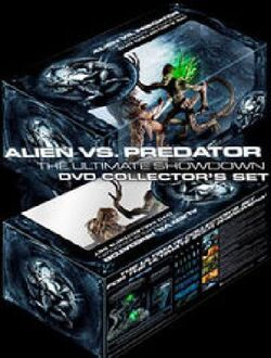 Alien vs. Predator The Ultimate Showdown DVD Collector's Set