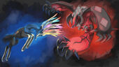 Yveltal-and-Xerneas-by jellojolteon2000