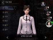 White Day Costumes - Pure white apple uniform (So-yeong)