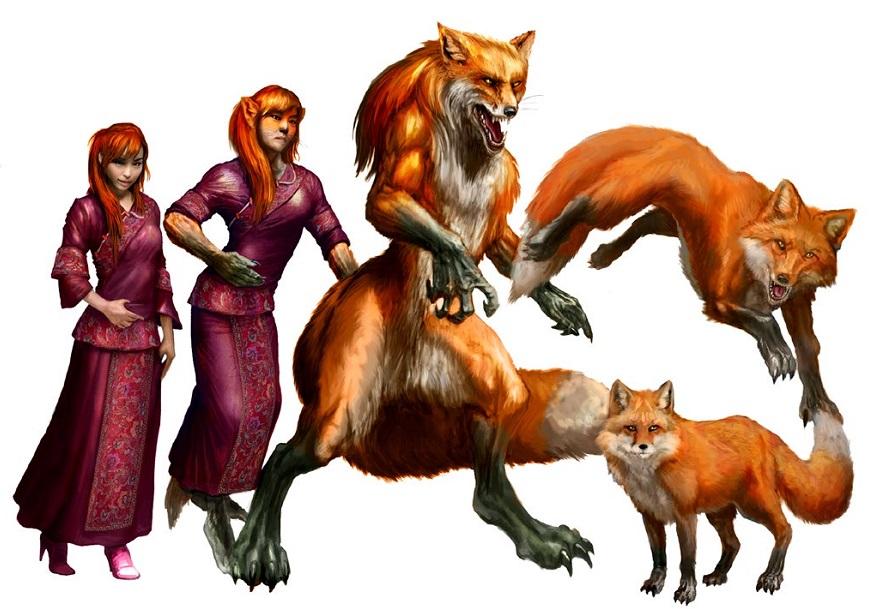 Werewolf vs weretiger - photo#44
