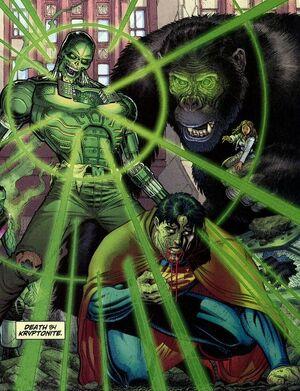 Death by kryptonite