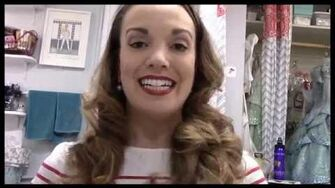 "Think Pink Backstage at ""Wicked"" with Kara Lindsay, Episode 7 Raiding the Fridge-2"