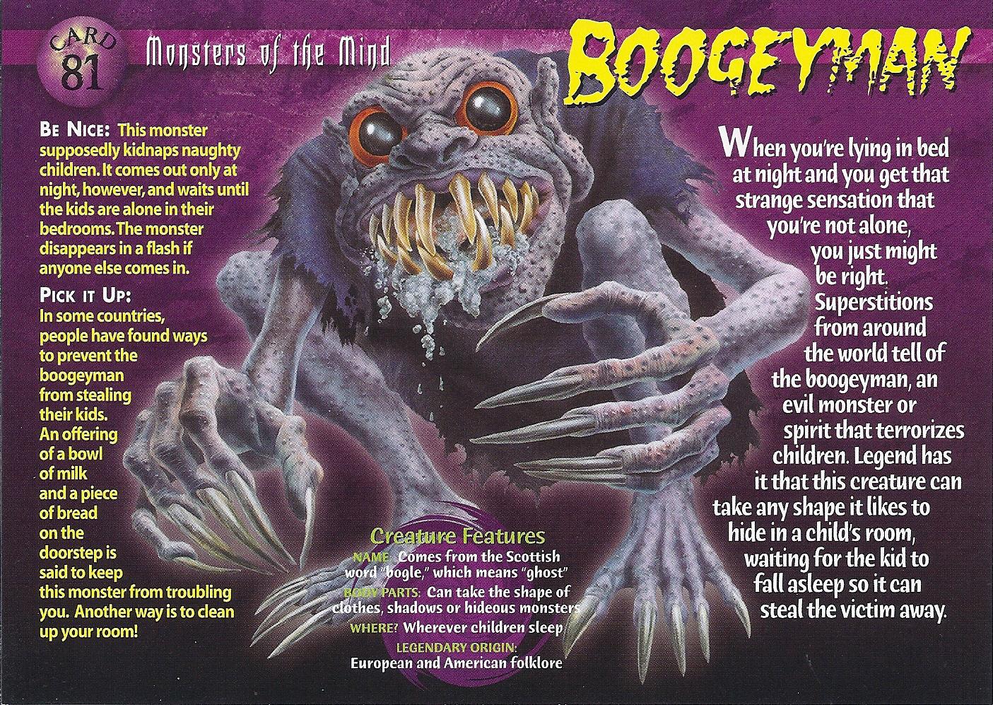 Resultado de imagen para boogeyman