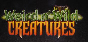 Weird n' Wild Creatures logo